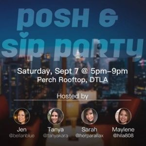 Los Angeles Posh & Sip September 7, 2019!